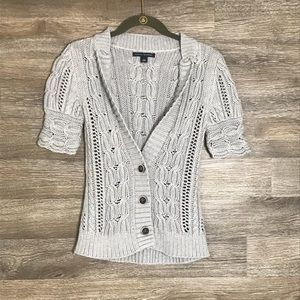 Banana Republic short sleeve cardigan size XS
